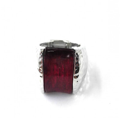 BAGUE ICONE ROUGE