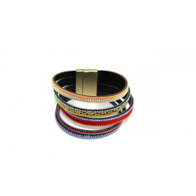BRACELET MIKEAL ROUGE MULTI